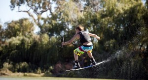Wakeboarding Murray River